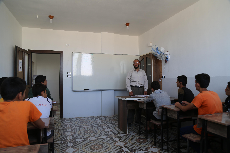 Özel Öncüler Okulu Suriye - İnsanı İnşa Derneği İİD. Uluslararası Yardım Kuruluşu