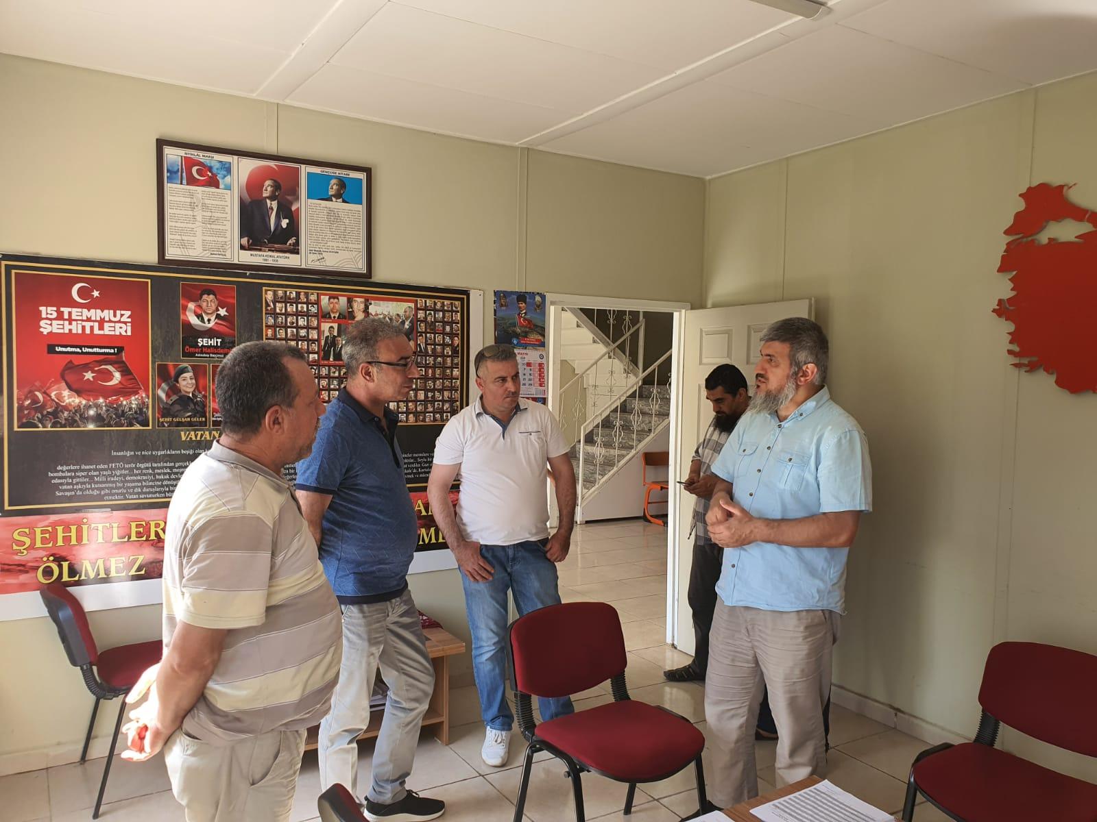 Umut yetimhanesi ziyaretçilerini ağırladı - Haberler - İnsanı İnşa Derneği İİD. Uluslararası Yardım Kuruluşu