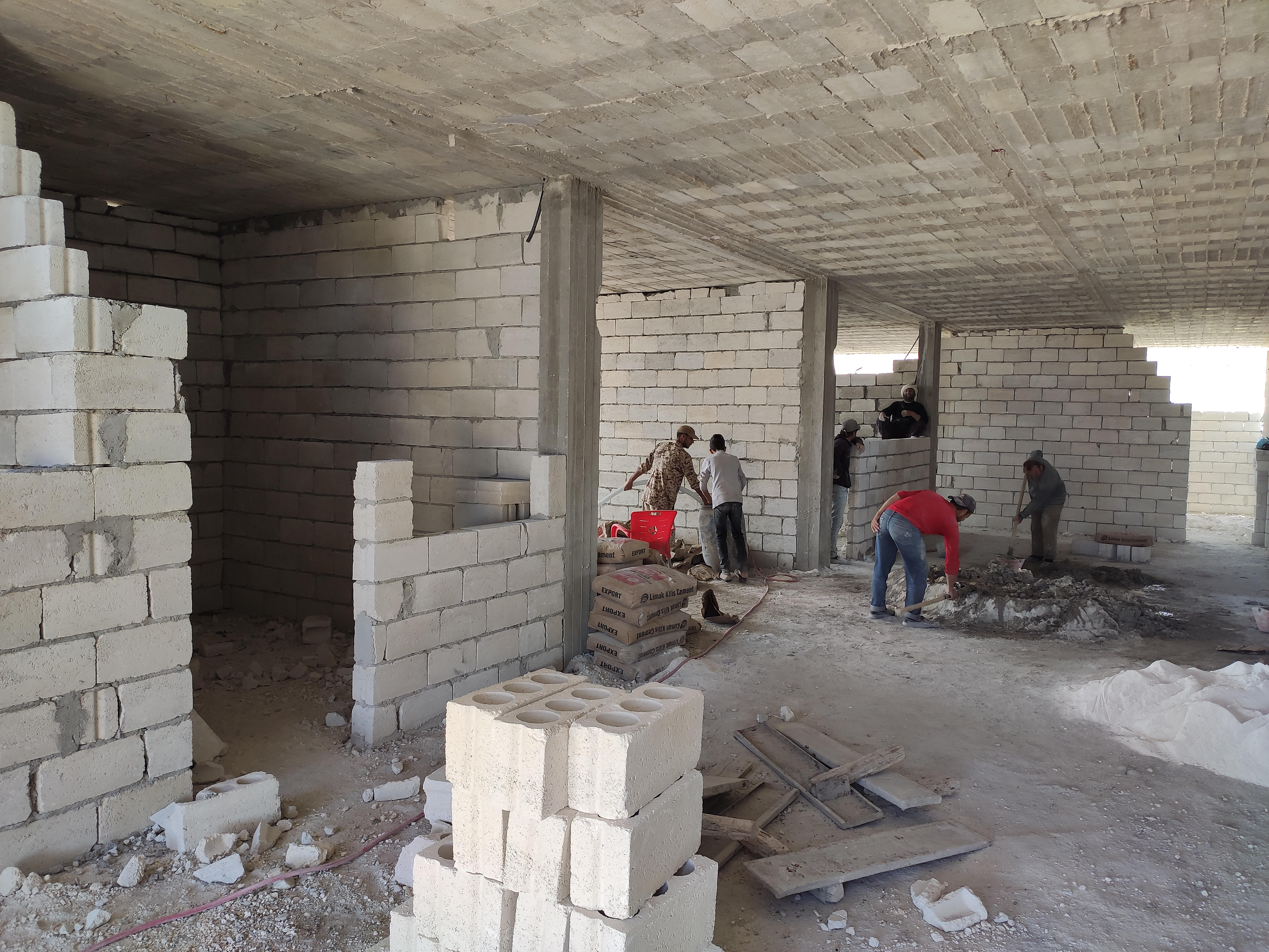 Okul Projesi İnşamız Devam Ediyor - Haberler - İnsanı İnşa Derneği İİD. Uluslararası Yardım Kuruluşu