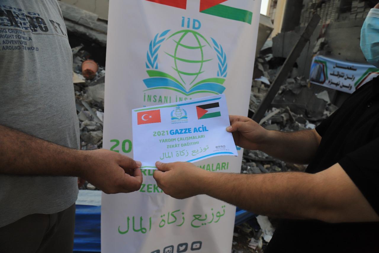 Zekâtlarınız Gazze'nin yaralarını sarıyor… - Haberler - İnsanı İnşa Derneği İİD. Uluslararası Yardım Kuruluşu