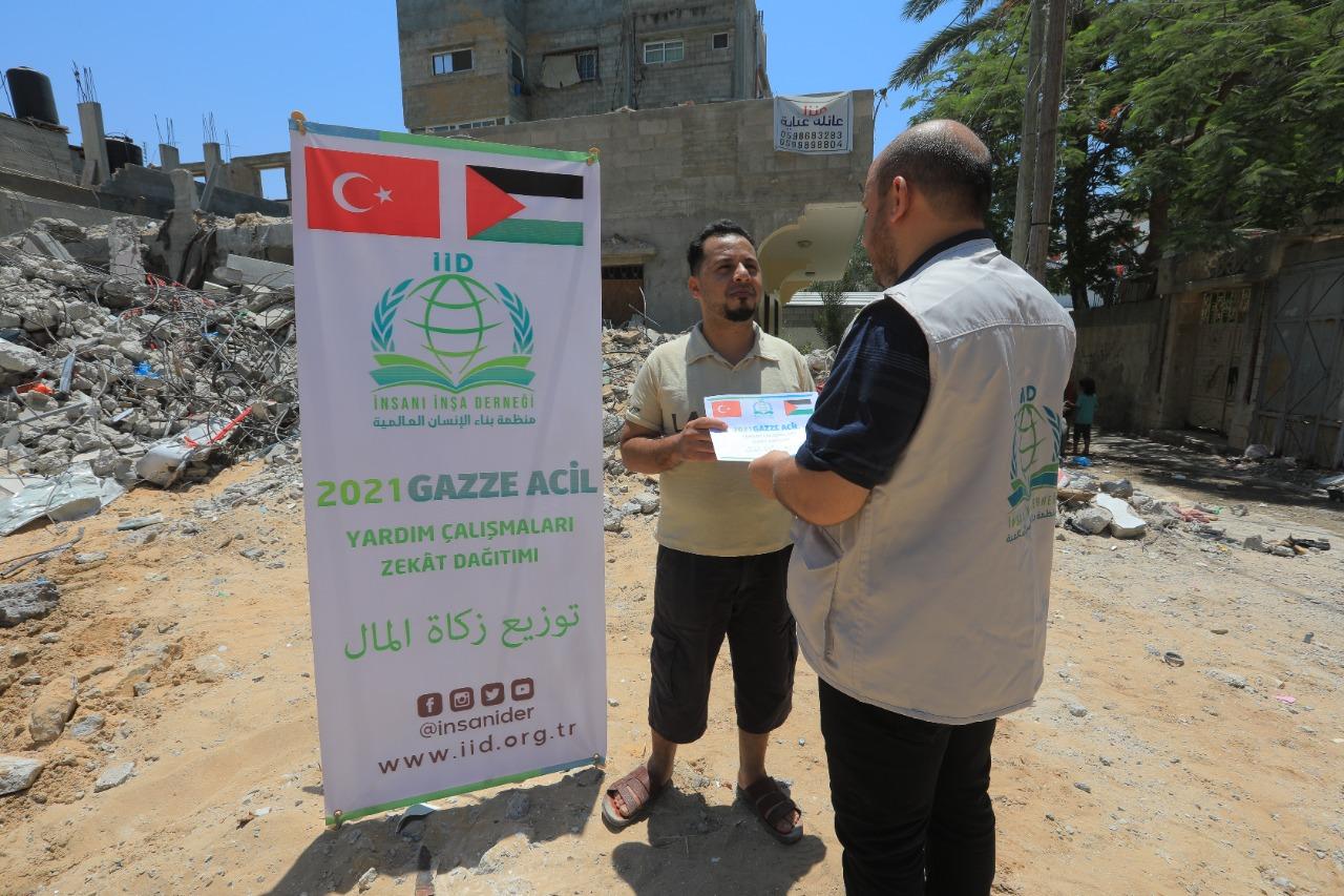 Zekâtlarınız Gazze'nin yaralarını sarmaya devam ediyor... - Haberler - İnsanı İnşa Derneği İİD. Uluslararası Yardım Kuruluşu