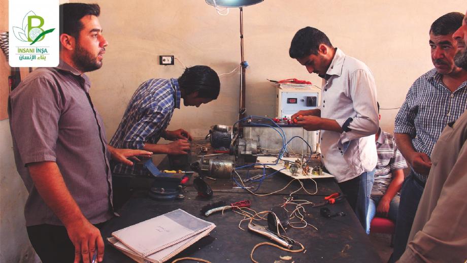 Suriye Meslek Edindirme Merkezi - İnsanı İnşa Derneği İİD. Uluslararası Yardım Kuruluşu