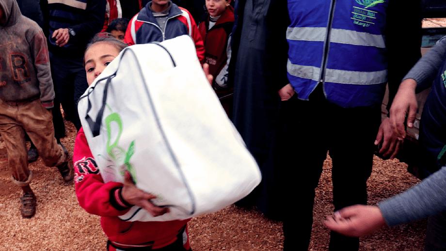 Battaniye Yardımları - İnsanı İnşa Derneği İİD. Uluslararası Yardım Kuruluşu