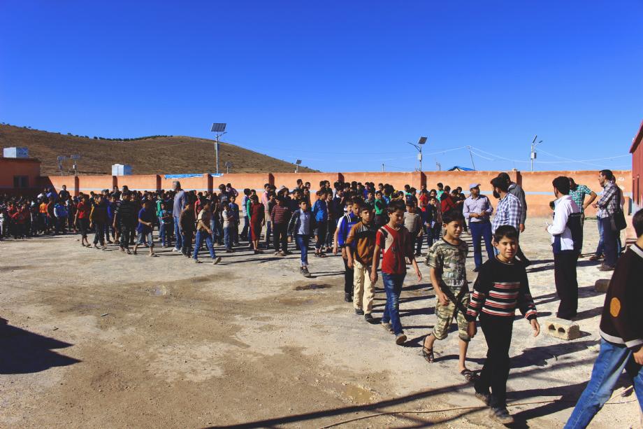 Suriye Okulları - İnsanı İnşa Derneği İİD. Uluslararası Yardım Kuruluşu